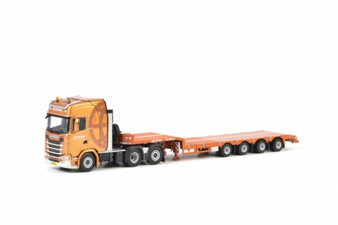 S Highline CS20H Semi Lowloader - 4achs