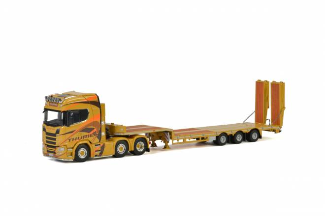 S Highline CS20H Semi Lowloader with Ramps