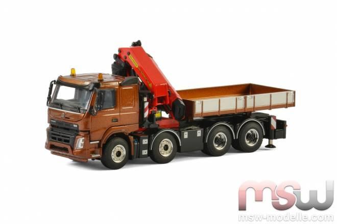FMX Sleeper Cab Riged Truck + Palfinger PK 74002 SH