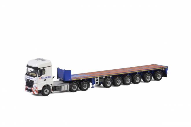 Benz Arocs MP4 Big Space Ballast Trailer - 6achs  (Support Services Limited)