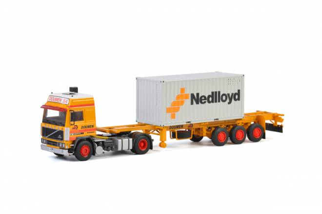 F12 Container Trailer Classic - 3achs + 20 FT Container