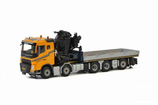 FH4 Sleeper Cab  Truck Mounted Crane / JIB