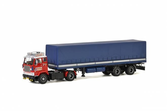 F88 4x2 CURTAINSIDE TRAILER CLASSIC - 2achs