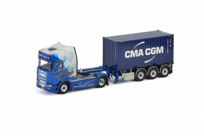 R HIGHLINE CR20H 4x2 Container Auflieger mit 2 Containern