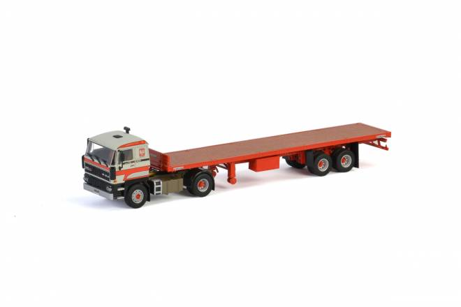 3600 4x2 CLASSIC FLAT BED TRAILER - 2achs