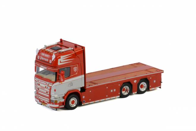STREAMLINE TOPLINE 6X2 TAG AXLE RIGED FLAT BED TRUCK