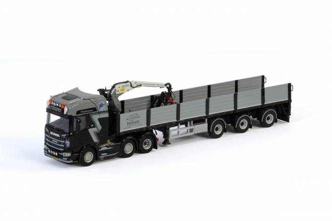 R HIGHLINE CR20H 6x2 TWIN STEER BRICK TRAILER - 3 achs