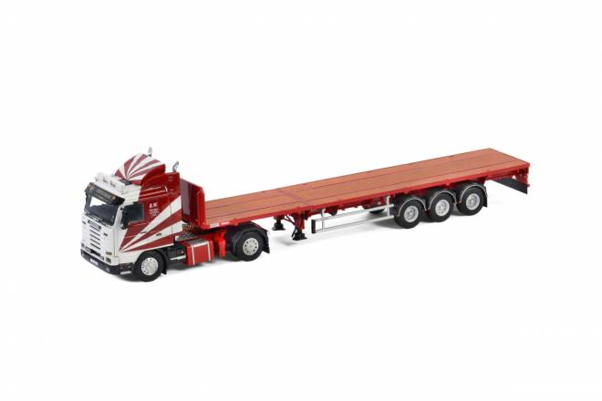 3 SERIES STREAMLINE 4X2 FLAT BED TRAILER - 3 AXLE