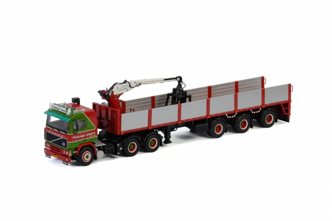 F12 6x4 BRICK TRAILER - 3 AXLE
