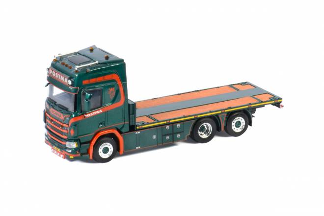 R HIGHLINE | CR20H 6X2 TAG AXLE RIGED FLAT BED TRUCK