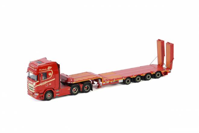 S HIGHLINE | CS20H 6X2 TAG AXLE SEMI LOW LOADER | RAMPS - 4 achs
