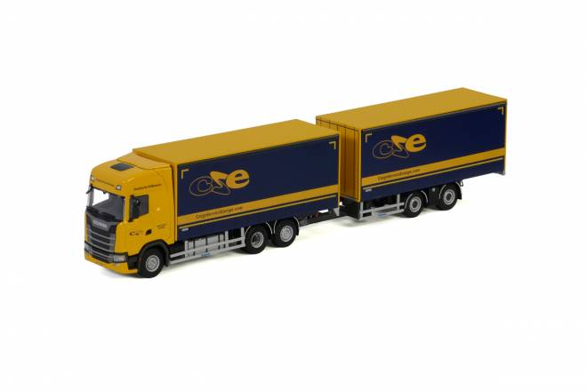 S HIGHLINE | CS20H RIGED TRUCK DRAWBAR CURTAINSIDE