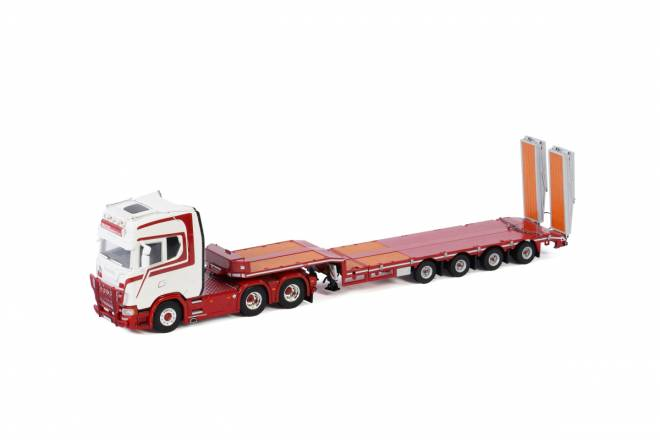 S HIGHLINE | CS20H 6X2 TAG AXLE SEMI LOW LOADER | RAMPS - 4achs
