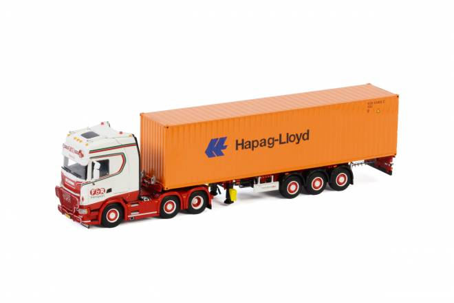 S HIGHLINE   CS20H 6X2 TWINSTEER CONTAINER TRAILER - 3 AXLE   40 FT CONTAINER