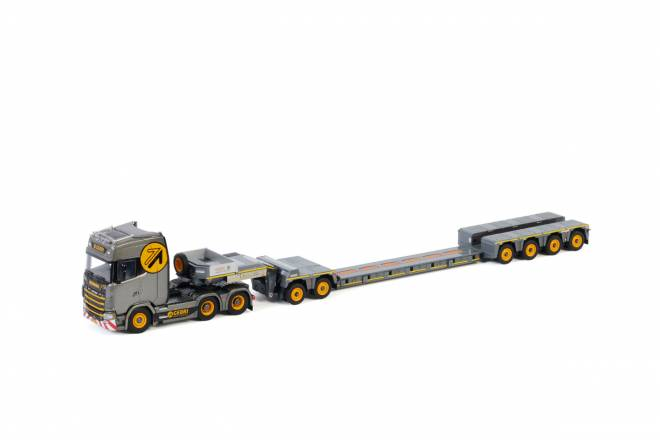 S HIGHLINE | CS20H 6X4 LOWLOADER 4 AXLE + DOLLY 2 AXLE