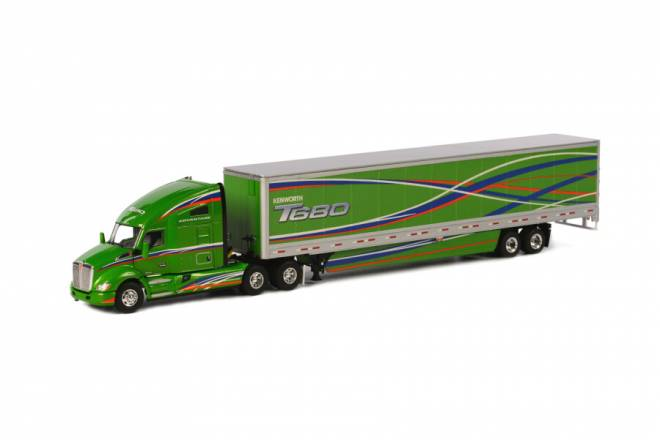 T 680 6x4 BOX TRAILER - 2 AXLE
