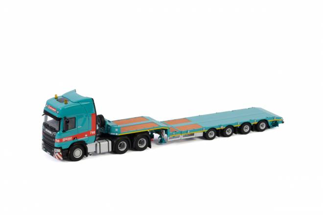 R HIGHLINE | CR20H 6X4 TAG AXLE SEMI LOW LOADER - 4 AXLE