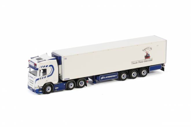 R HIGHLINE | CR20H 6X2 TWINSTEER REEFER TRAILER - 3 achs