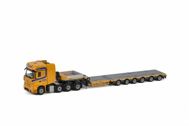 ACTROS MP4 SLT GIGA SPACE 8X4 LOW LOADER - 6achs