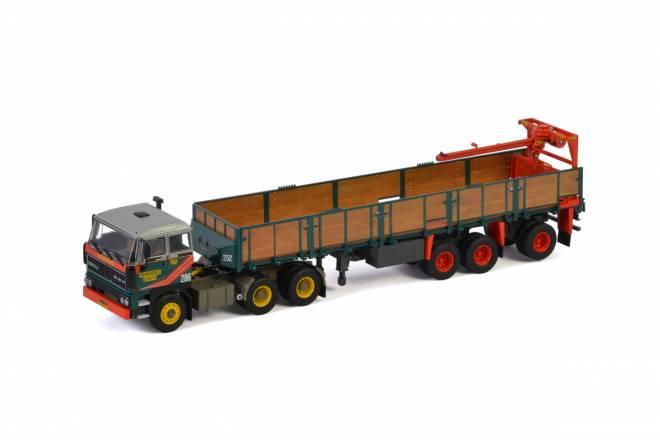 3300 6X4 BRICK TRAILER - 3 AXLE