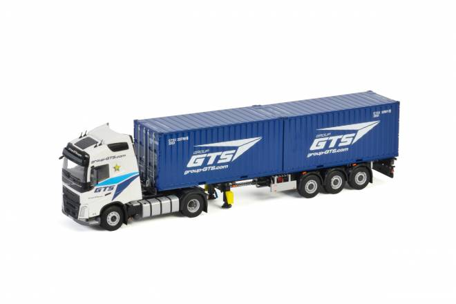 FH4 GLOBETROTTER 4X2 CONTAINER mit 2 x 20 Fuss Container