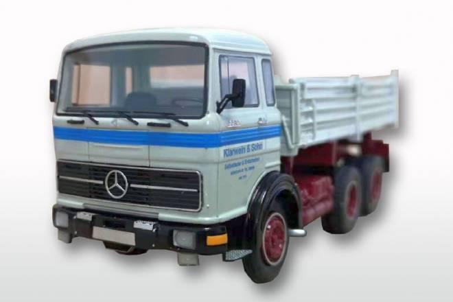 Benz LPK 2232 Meiller mit hohen Bordwänden