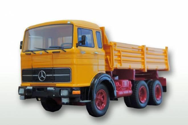 Benz LPK 2232 Meiller Baustellengelb
