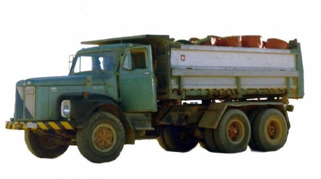 Vabis LT110 Dreiseitenkipper