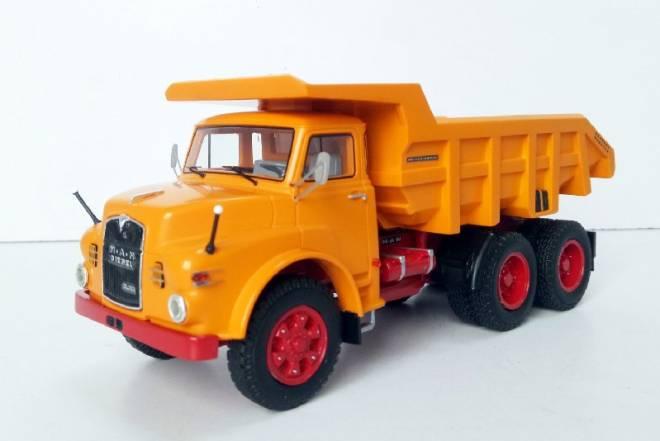 Hauber 2180 DHKA 6x6 Kipper