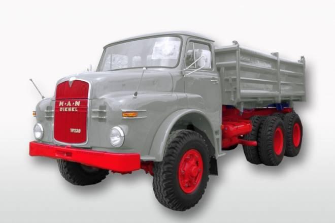 Hauber 19.230 DHKA (6x6 Kipper)