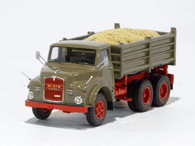 Hauber 19.230 DHKA (6x6 Kipper)  RAL 7002
