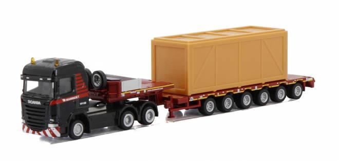 STREAMLINE HIGHLINE 6x4 SEMI LOWLOADER - 6 AXLE + WOODEN BOX