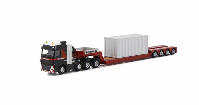 FH4 GLOBETROTTER XL 8x4 LOWLOADER - 4 AXLE + 20 FT CONTAINER