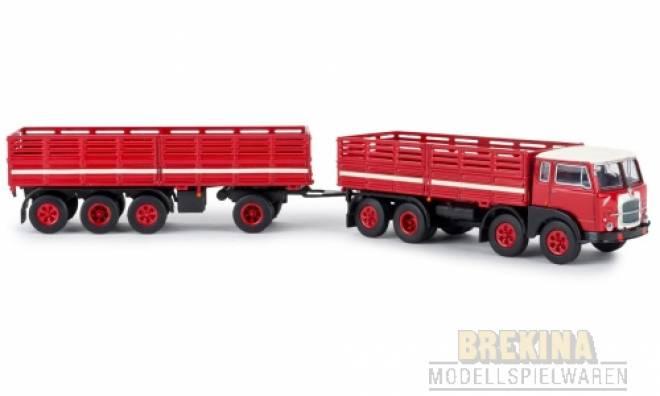 690 Millepiedi, rot/schwarz