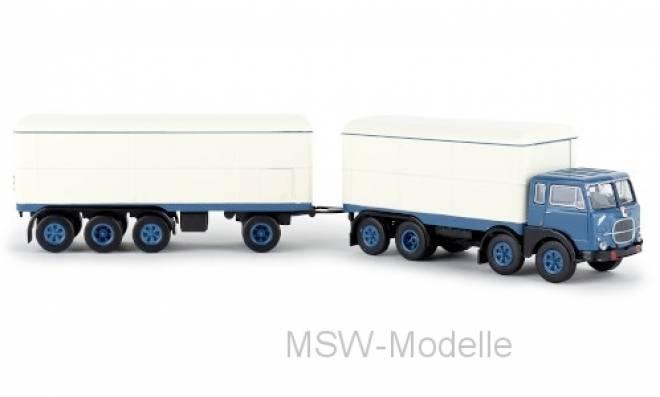 690 Millepiedi, blau/weiss, Kofferzug, 1961