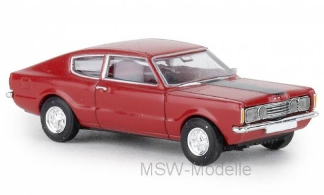 Taunus Coupe GT, , Motorhaube schwarz, 1972