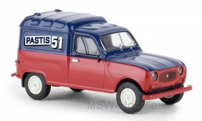 R4 Fourgonnette, Partis 51, 1961