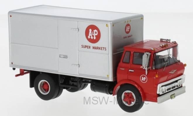 Tilt Cab Box Truck, A&P Super Markets, 1960