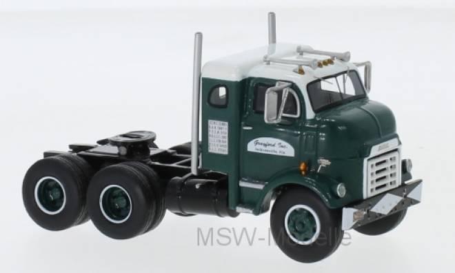 950 Cannonball Sleeper Cab, dunkelgrün/weiss, 1954