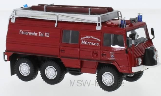 Puch Pinzgauer 712K 6x6, Freiwillige Feuerwehr Mürnsee, 1977