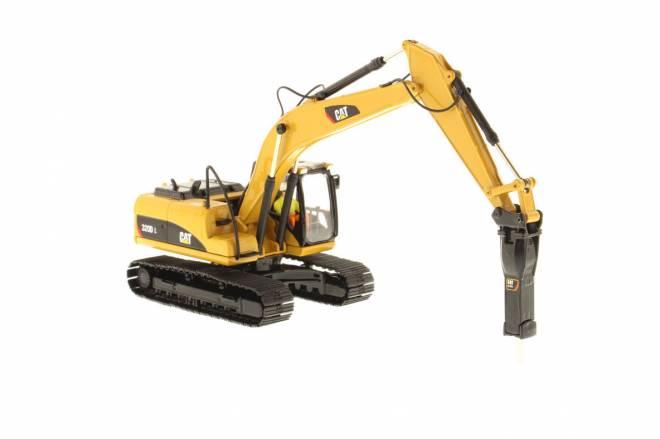 320D L Excavator mit Hammer