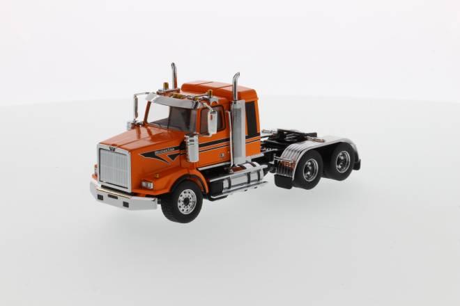 4900 SB Sleeper Tandem Tractor - Metallic-orange black stripes