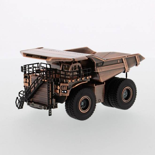 797F Mining Truck, Copper Finish