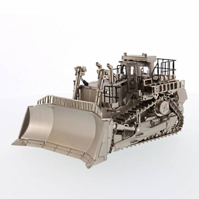 D11T Track Type Tractor, Matt Silver plated