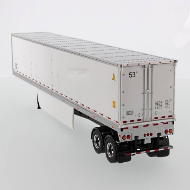 53' Dry cargo van white