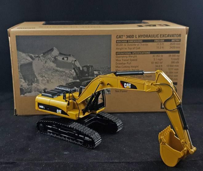340D L Hydraulic Excavator mit Tieflöffel -