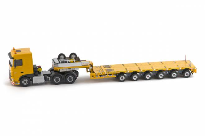 Euro 6 SC 6x4 with Nooteboom MCO-PX 6 axle