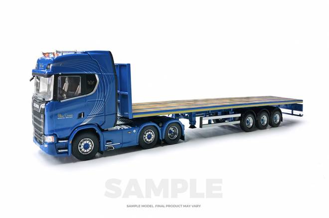New S-series Highline 6x2 & Flatbed 3achs