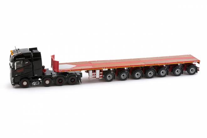 FH04 Globetrotter Black Series - 7achs Ballasttrailer