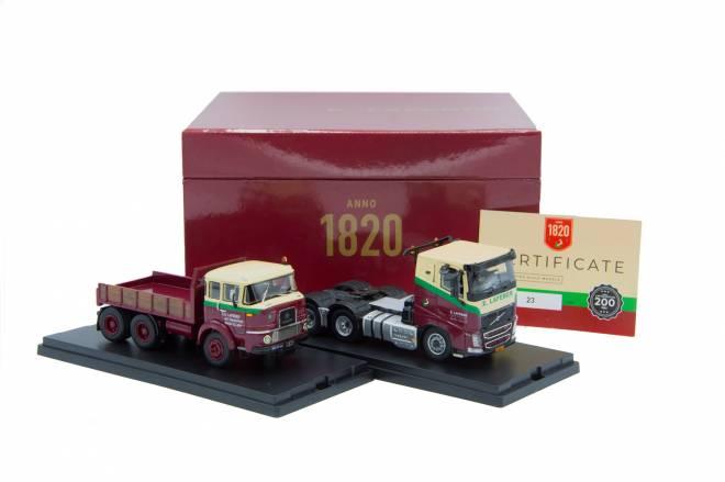 SF980 6x4 und  Volvo FH 6x4 im Set 200 Jahre